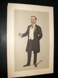 Vanity Fair Print 1905 Count Albert Mensdorff